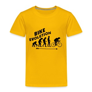 Bike Evolution (BLACK) - Kinder Premium T-Shirt