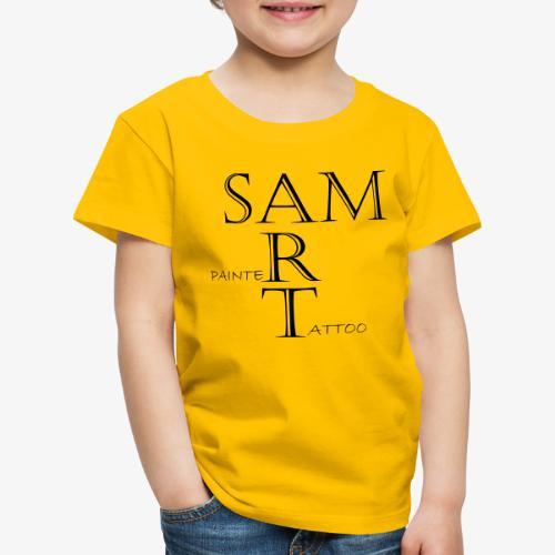 SamArtNew1 - Kinderen Premium T-shirt