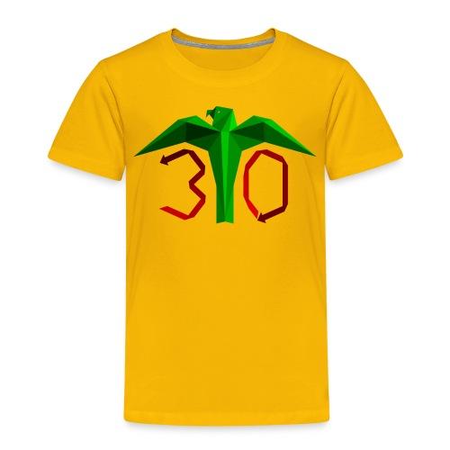 Juhlavuoden logo - Lasten premium t-paita