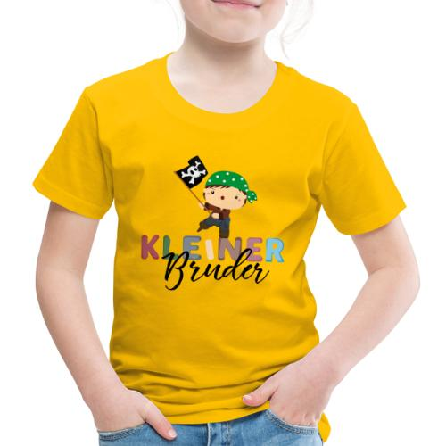 Kleiner Bruder Piraten - Kinder Premium T-Shirt