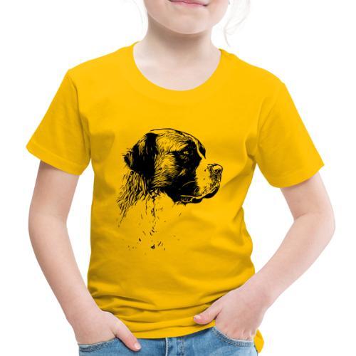 Bernhardiner Hunde Design Geschenkidee - Kinder Premium T-Shirt