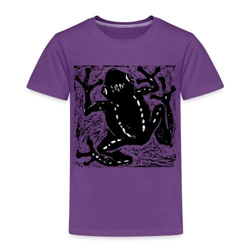 Museum Tree Frog - Kids' Premium T-Shirt