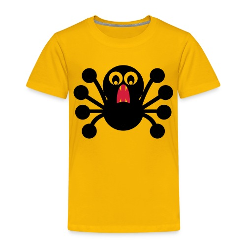 Frightened Spider - Kinder Premium T-Shirt