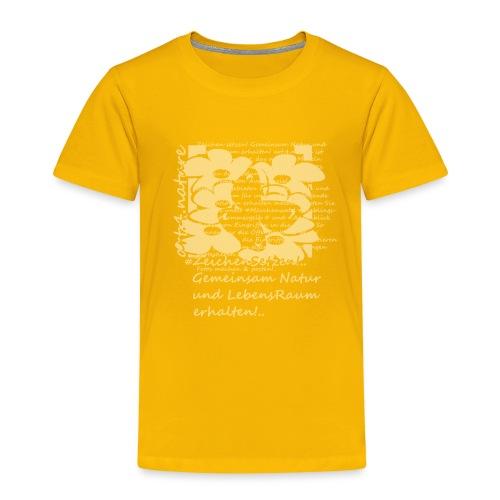 #ZeichenSetzen #Blütentanz - Kinder Premium T-Shirt