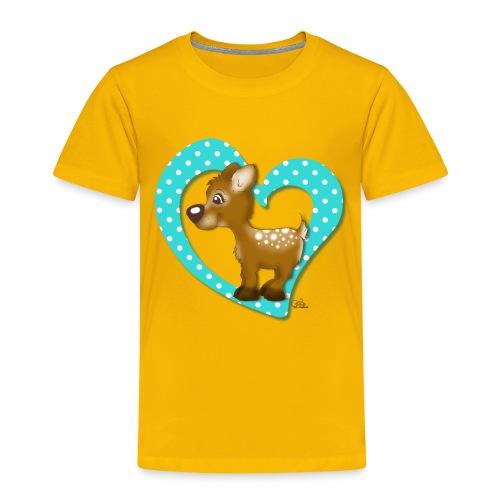 Kira Kitzi Aqua - Kinder Premium T-Shirt