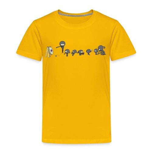 ninja school - Kids' Premium T-Shirt