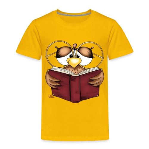Gretchen Büchereule - Kinder Premium T-Shirt