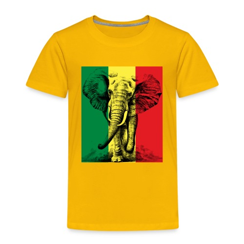 Elephant of Savanna Africa Jungle Safari - T-shirt Premium Enfant