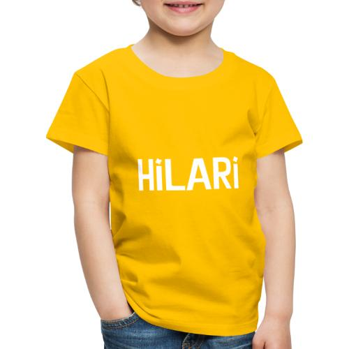 Hilari <3 - Kinder Premium T-Shirt