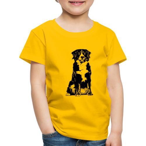 Berner Sennenhund Hunde Design Geschenkidee - Kinder Premium T-Shirt