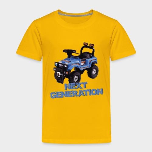 Next-Generation-Offroader - Kinder Premium T-Shirt
