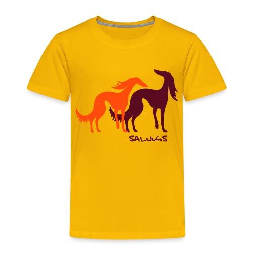 salukis couple txt - T-shirt Premium Enfant
