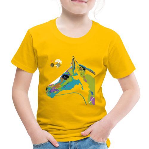 Spotted.Horse Appaloosa Colt Pop Art - Maglietta Premium per bambini