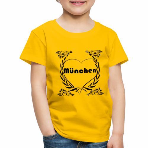 Ich liebe München - Kinder Premium T-Shirt