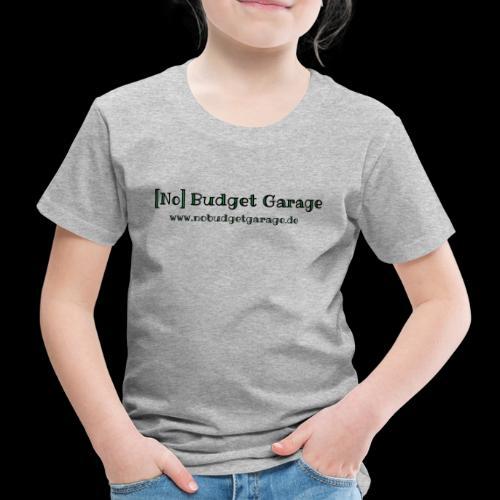 Classic Edition der No Budget Garage - Kinder Premium T-Shirt