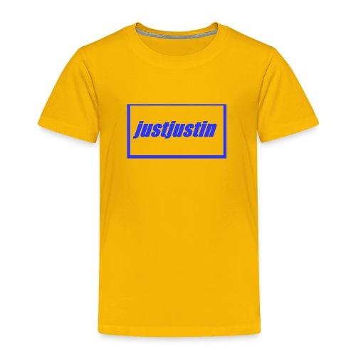 justjustin cap - Kids' Premium T-Shirt