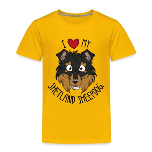 I love my Sheltie - Kids' Premium T-Shirt