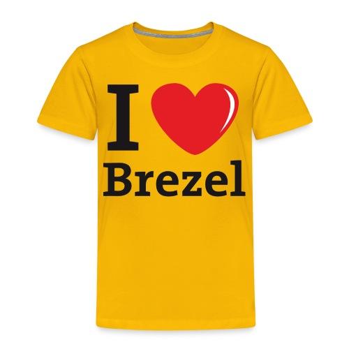I love Brezel - Kinder Premium T-Shirt