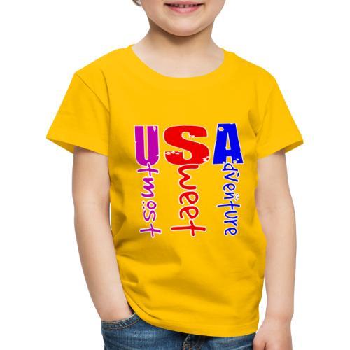 USA-Utmost Sweet Adventure - T-shirt Premium Enfant
