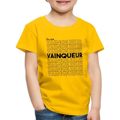 Plus que vainqueur - Plus que vainqueur en Christ - T-shirt Premium Enfant