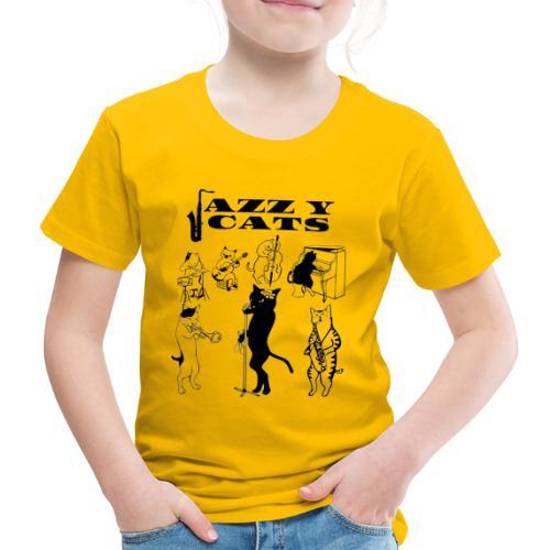 jazzy cats - T-shirt Premium Enfant