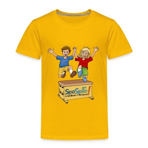 Sporteln Spielen Toben - Kinder Premium T-Shirt