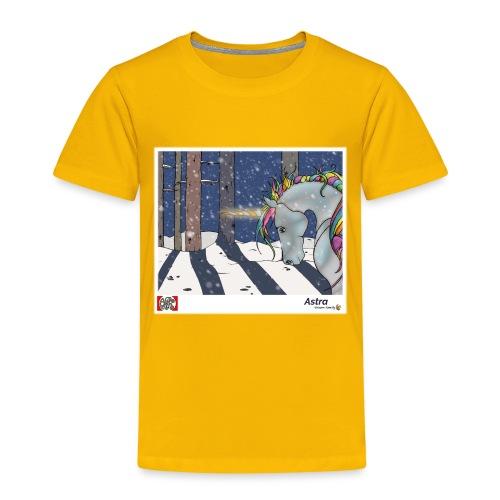 Astra proto back spread design2 png - Børne premium T-shirt