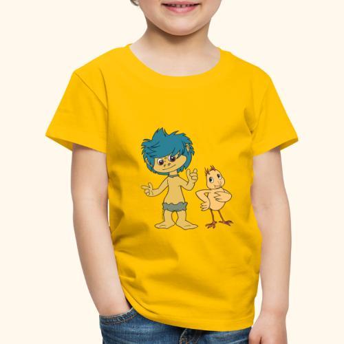 Plumps & Küken - Kinder Premium T-Shirt