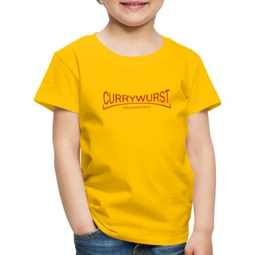 Currywurst Red Gold - Kinder Premium T-Shirt