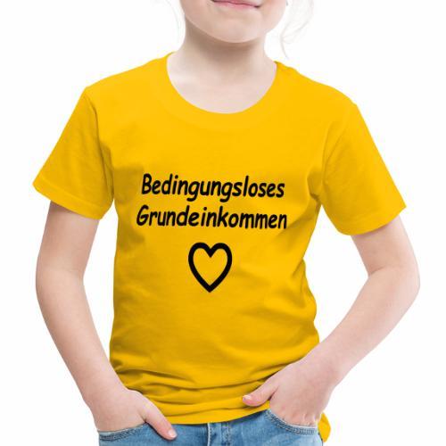 BGE, Bedingungsloses Grundeinkommen - Kinder Premium T-Shirt