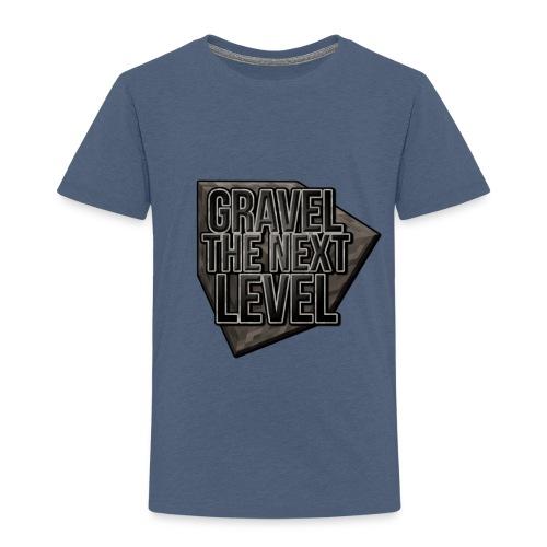 gravelthenextlevel png - Kinderen Premium T-shirt