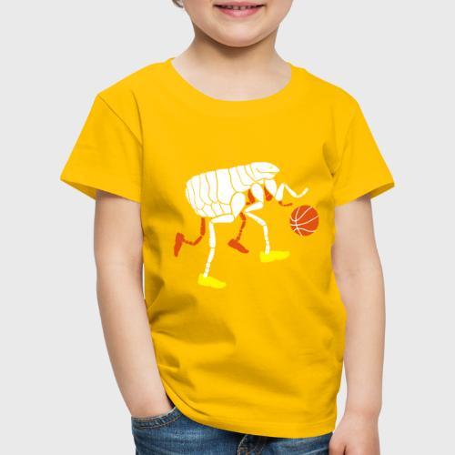 Puce qui joue au Basketball - T-shirt Premium Enfant