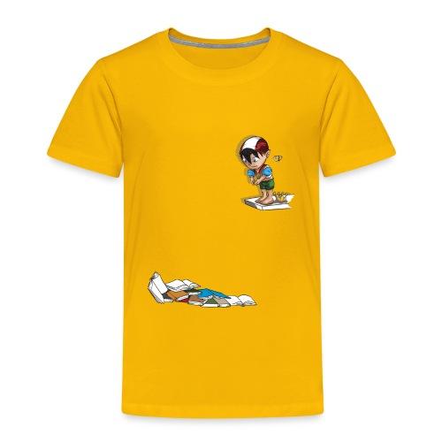 RE_CENSO trampolino - Maglietta Premium per bambini
