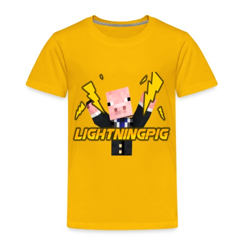 LightningPig Mearch - Kids' Premium T-Shirt