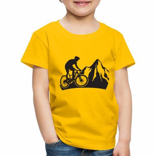 Mountainbike - Bergliebe - Kinder Premium T-Shirt