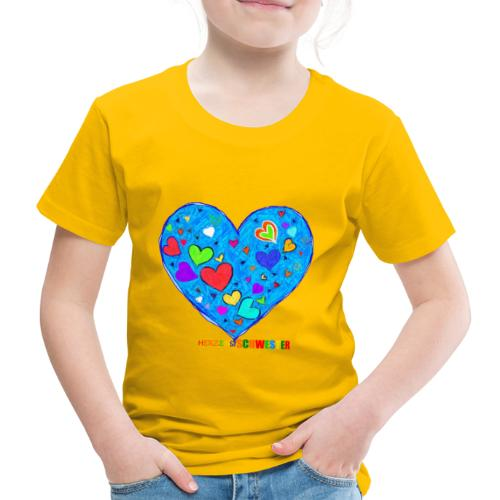 HerzensSchwester - Kinder Premium T-Shirt