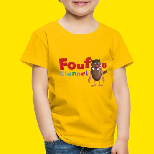Foufou Logo Posing - Kids' Premium T-Shirt