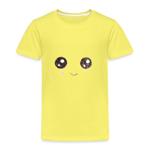 Kids for Kids: Smiling Face - Kinder Premium T-Shirt