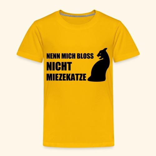Miezekatze - Kinder Premium T-Shirt