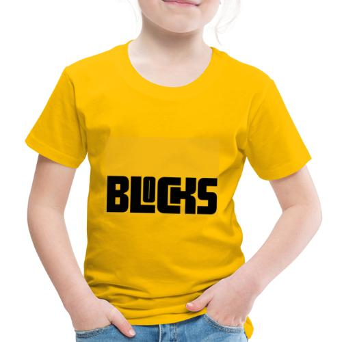 Blocks - Kinderen Premium T-shirt