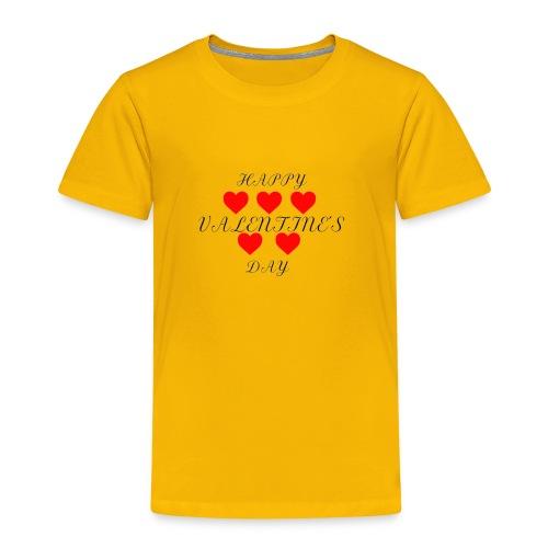 happy valentine s day 3 - Kinder Premium T-Shirt