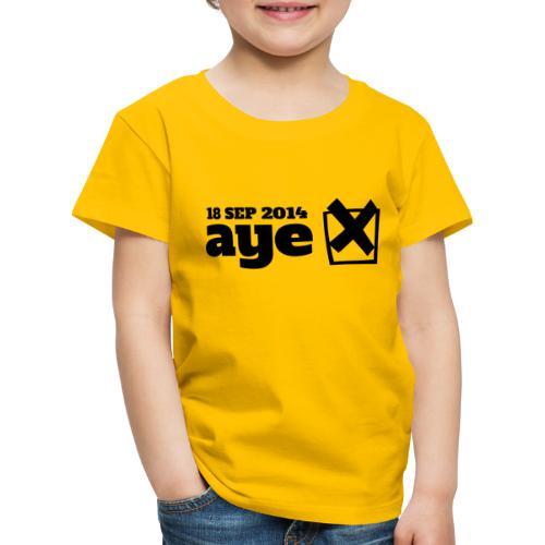 Vote Aye - Kids' Premium T-Shirt