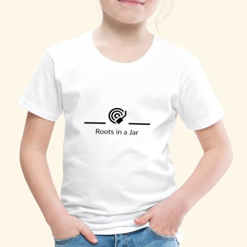 Roots in a jar logo - Premium-T-shirt barn