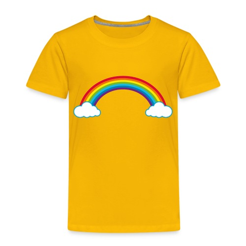 Regenbogen Sonne Herz Rainbow Cloud Heart - Kids' Premium T-Shirt