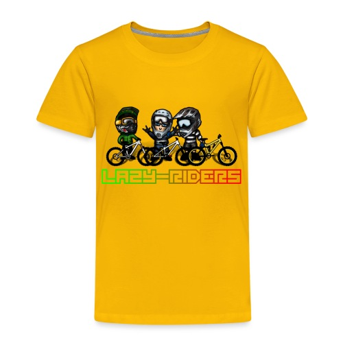 LAZY-RIDERS - Kinder Premium T-Shirt