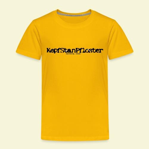 KopfStanPfloster Banner - Kinder Premium T-Shirt
