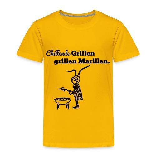 grillen - Kinder Premium T-Shirt