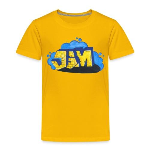 Steine Hintergrund - Kinder Premium T-Shirt