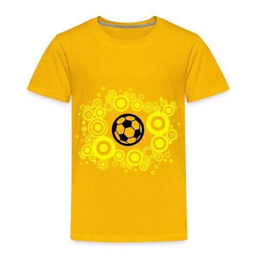 Voetbal Cirkels 2C - Kinderen Premium T-shirt