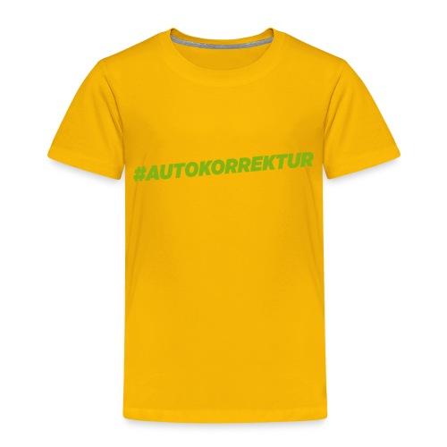 AUTOKORREKTUR - Kids' Premium T-Shirt